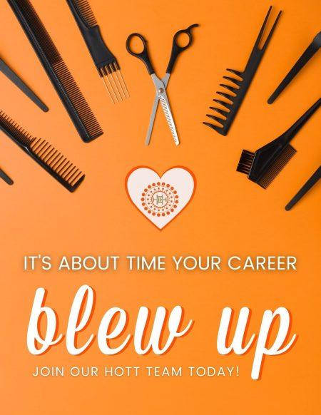 hott blow dry careers