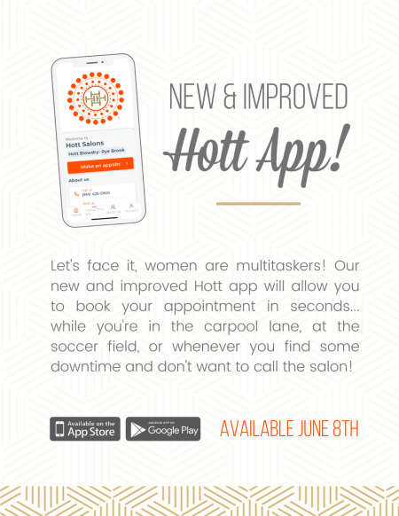 hott blow dry app